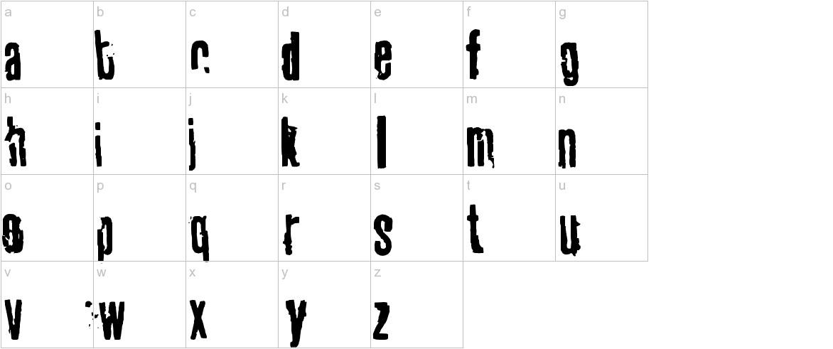 tablhoide lowercase
