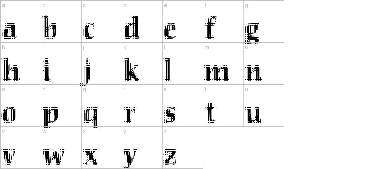 VTC Seeindubbledointriple lowercase