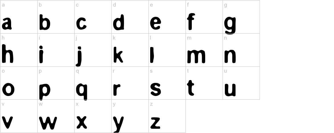 Epilog lowercase