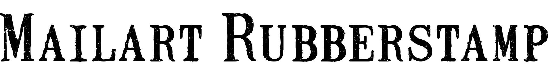 Mailart Rubberstamp