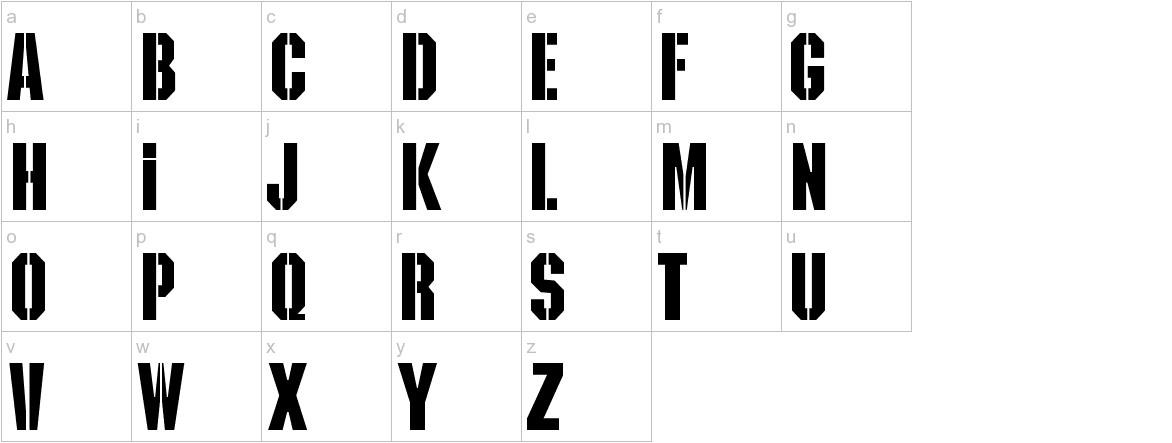 Kaiser lowercase