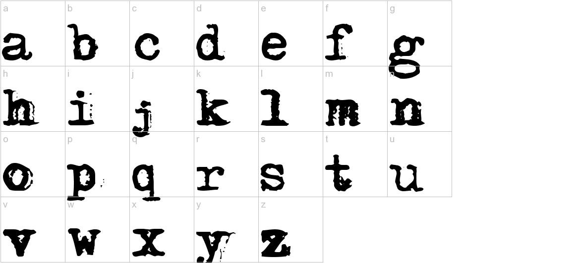 Adler lowercase