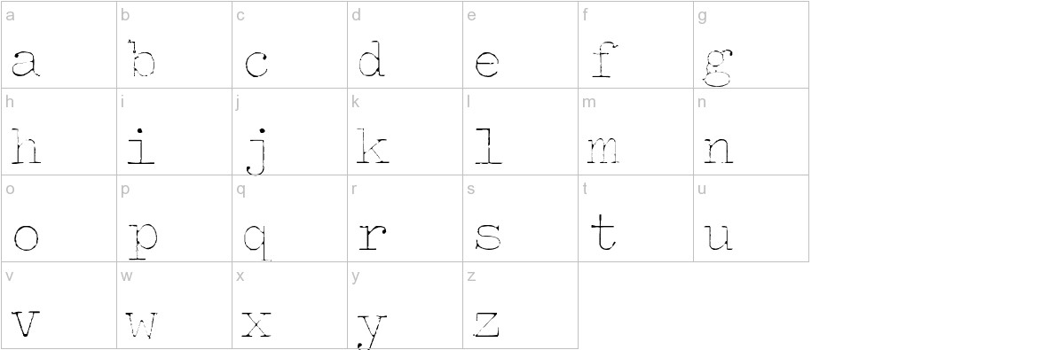 Splendid 66 lowercase