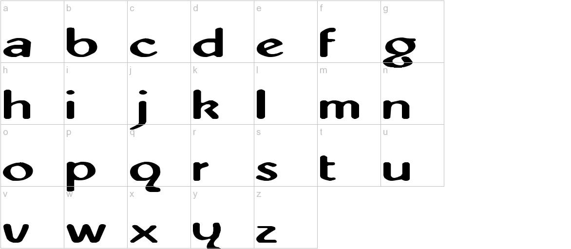 Abbey-Medium Extended lowercase