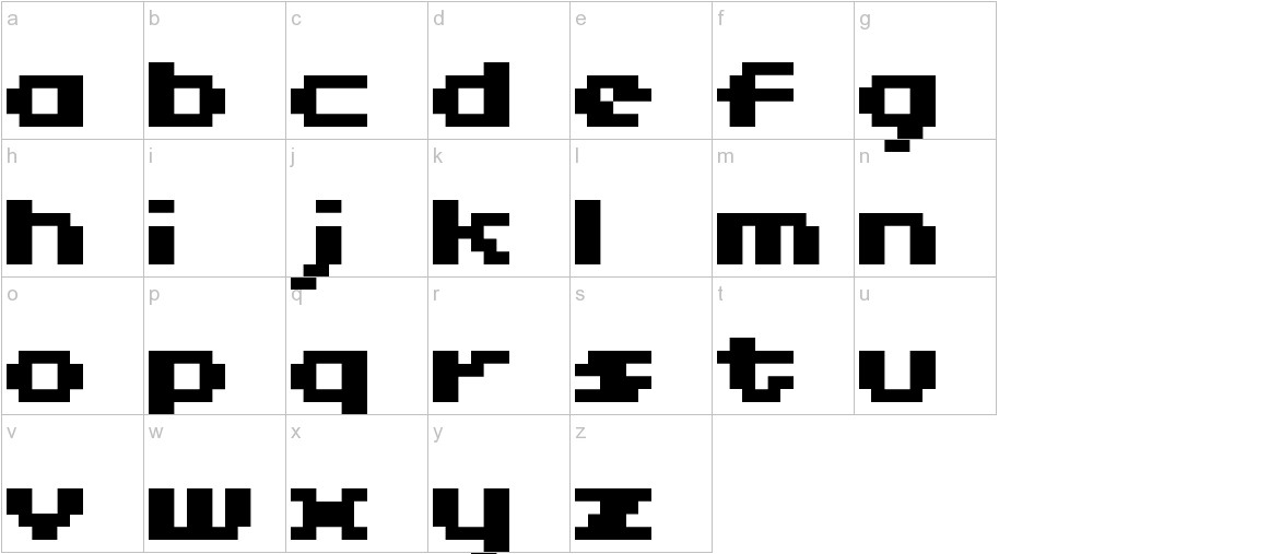 04b11 lowercase