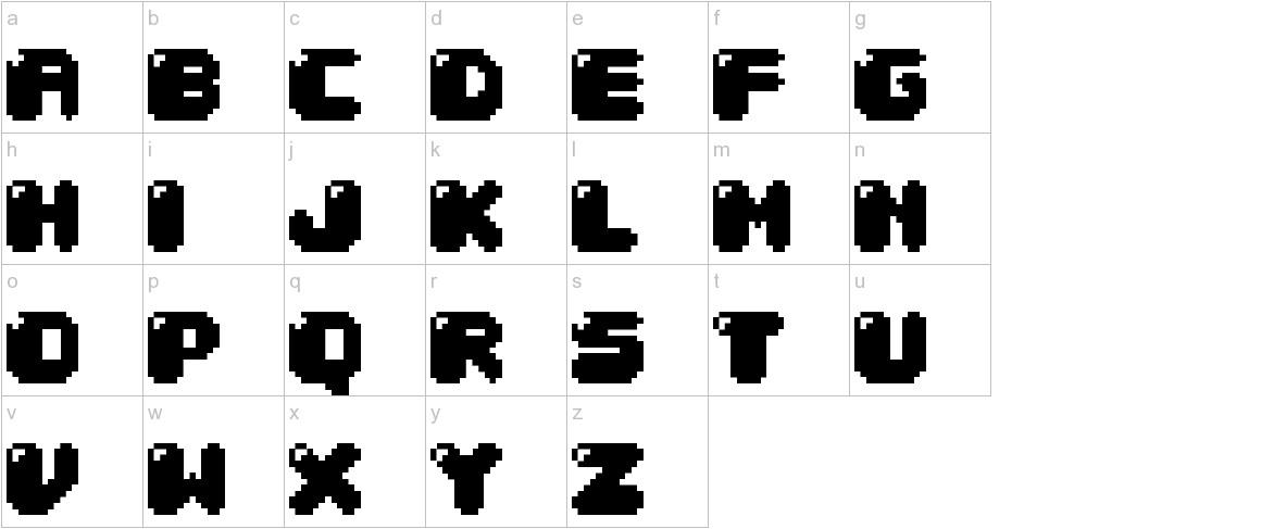 04b 30 lowercase