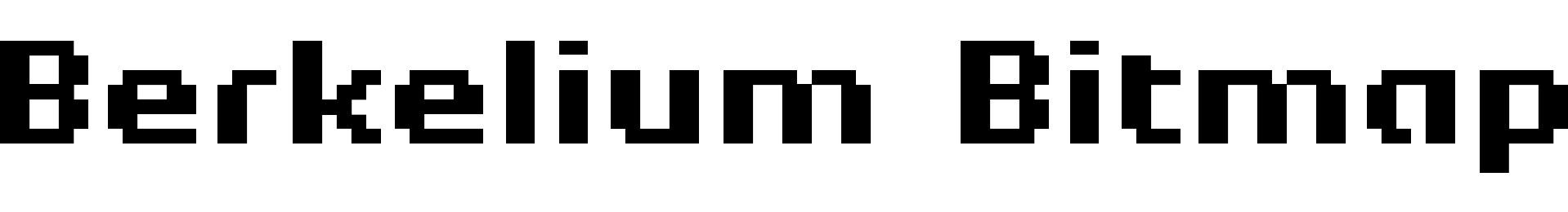 Berkelium Bitmap