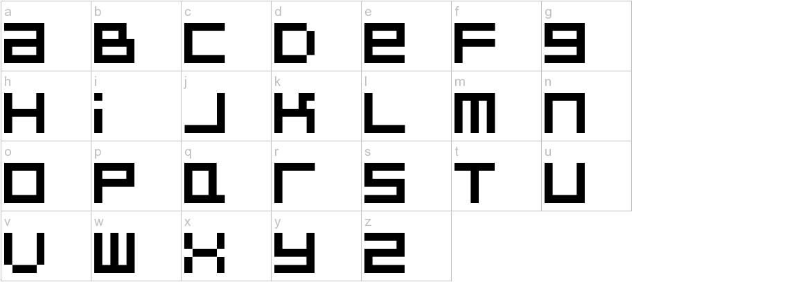 BitDust Two lowercase