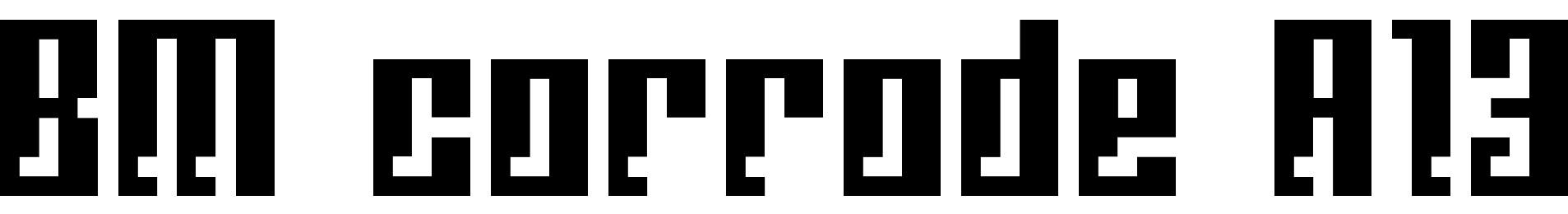 BM corrode A13