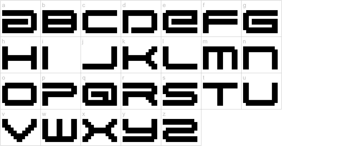 BM gaia A10 lowercase