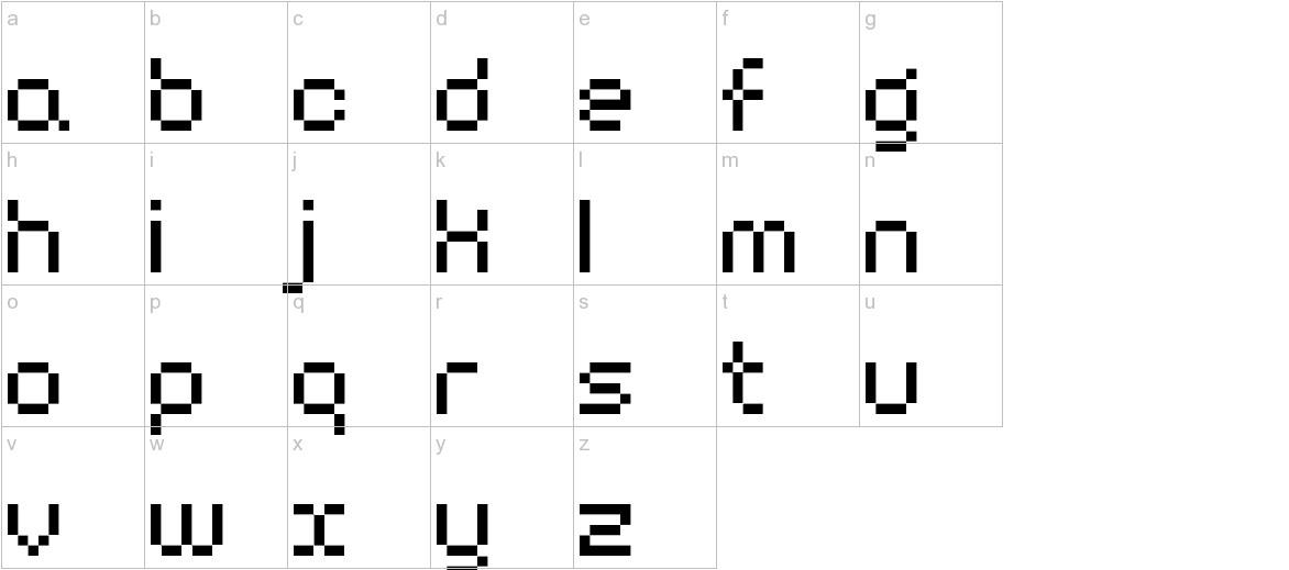 BM harry A10 lowercase