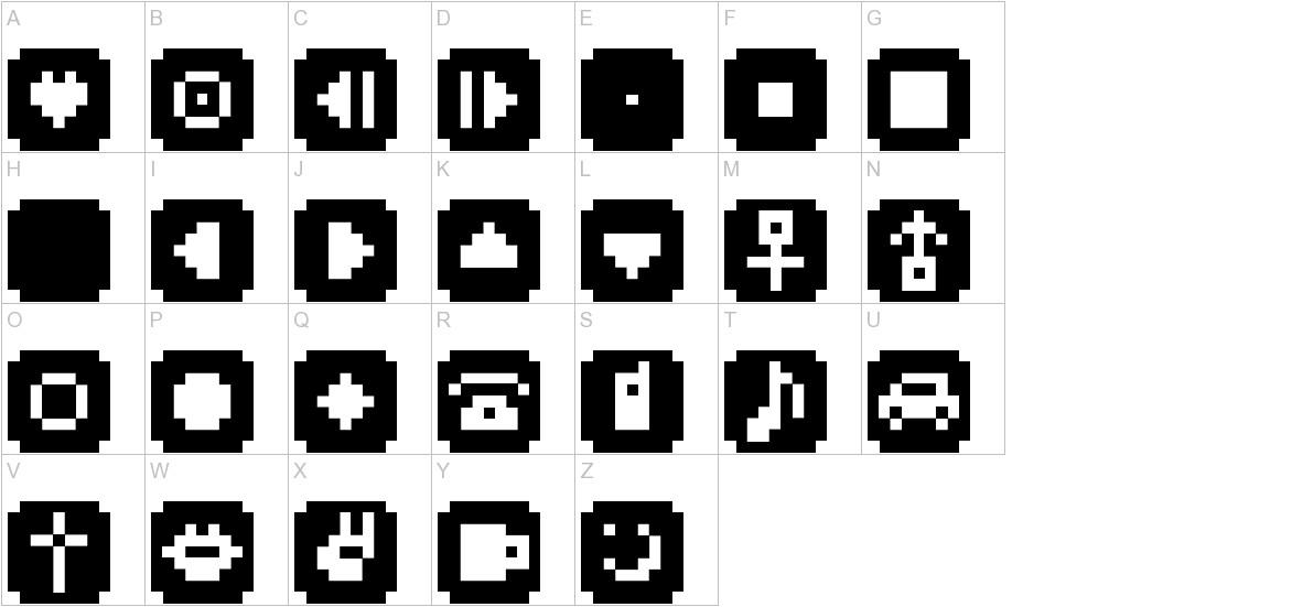 BM stamp A9 uppercase