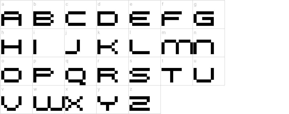 FFF Galaxy lowercase