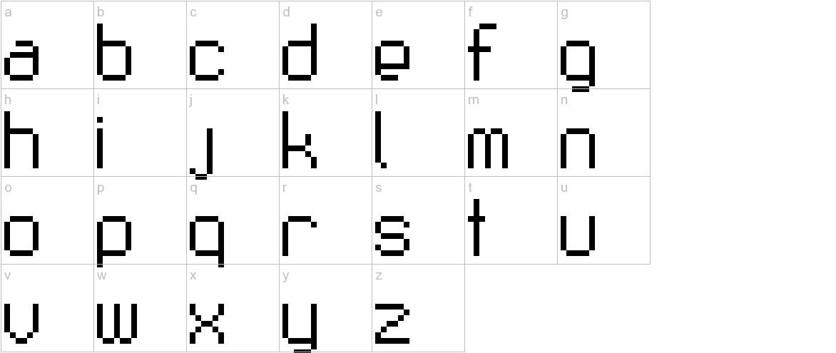 Fruitsalad lowercase