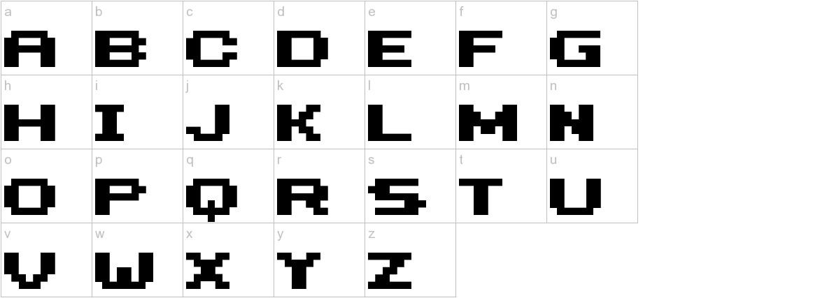 HILOGINBOLD lowercase