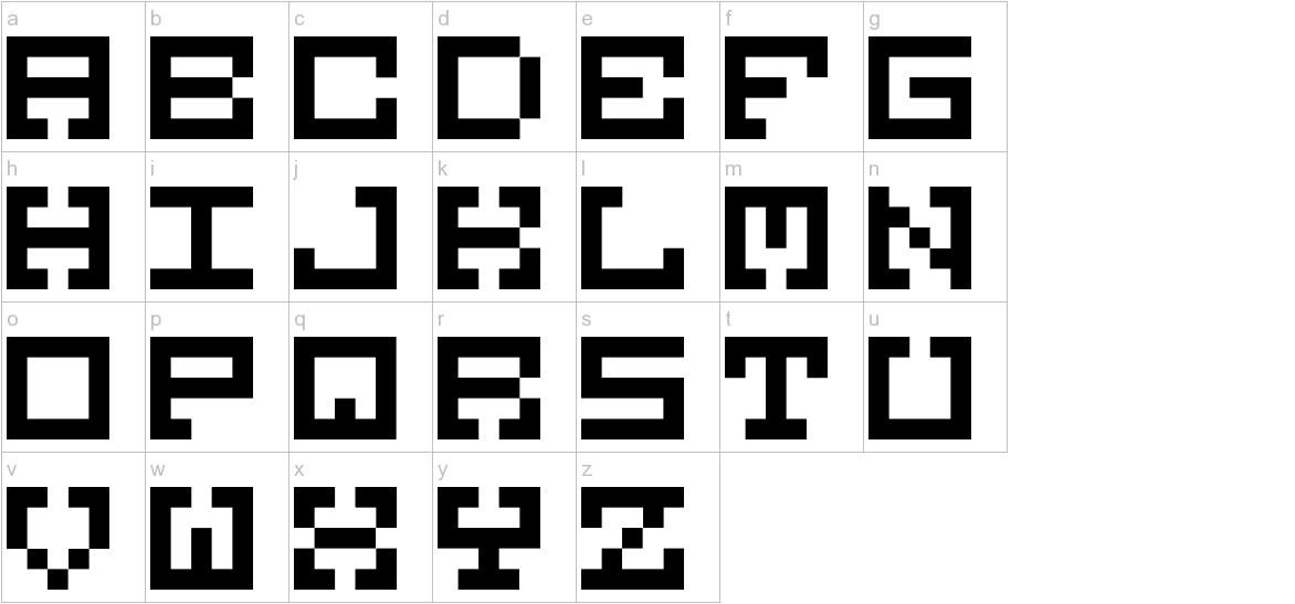 M38_GORILLA lowercase