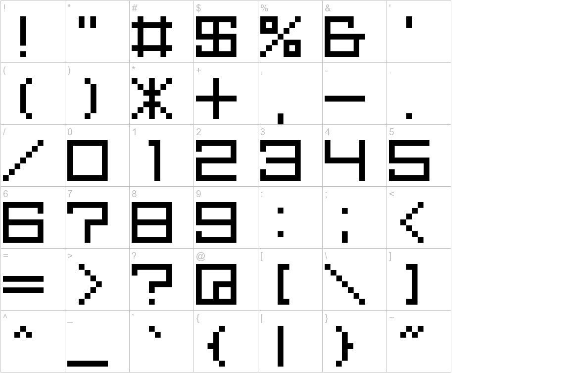 M39_SQUAREFUTURE characters