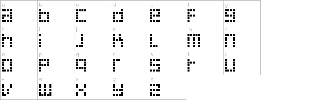Decoder lowercase