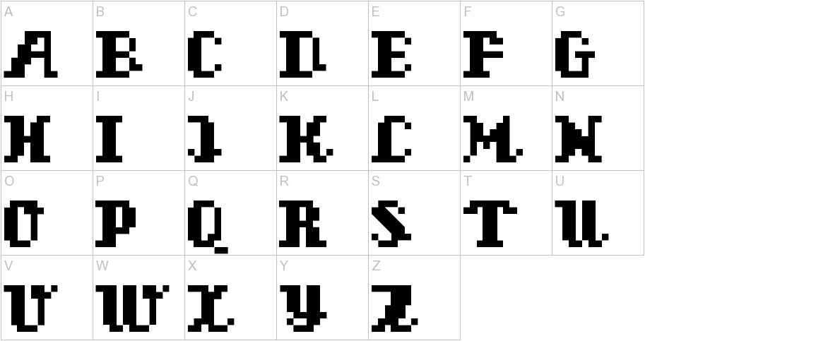 superscript uppercase
