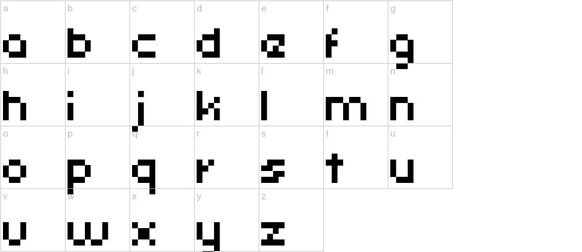 uni 05_53 lowercase