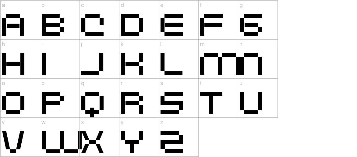 Digitalema lowercase