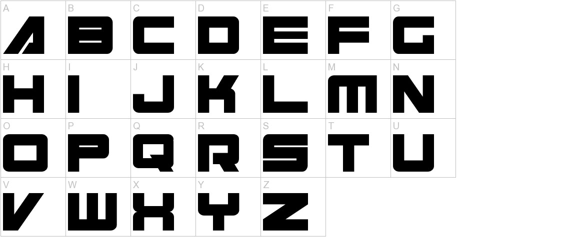 Cyberspace uppercase