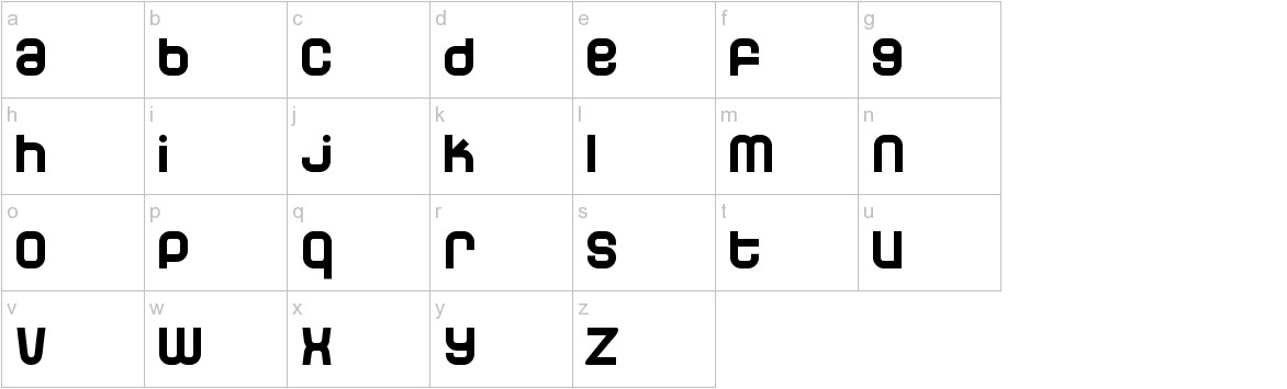 Dunebug lowercase