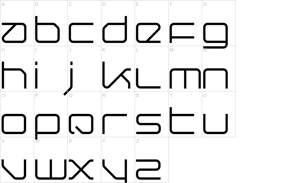Querround uppercase