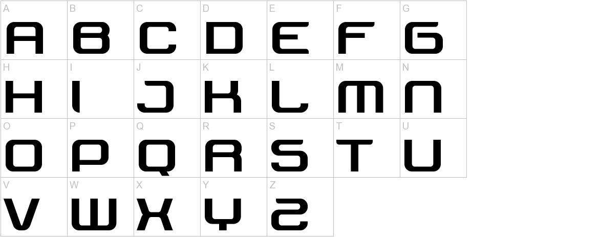 Tektrron uppercase