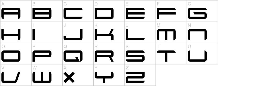 Xenotron uppercase