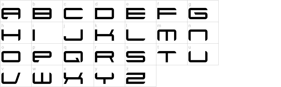 Xenotron lowercase