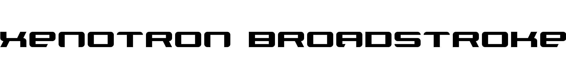 Xenotron Broadstroke