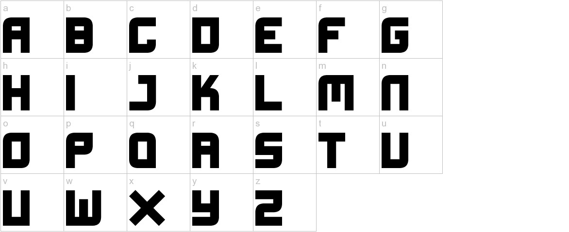 Xifiction lowercase