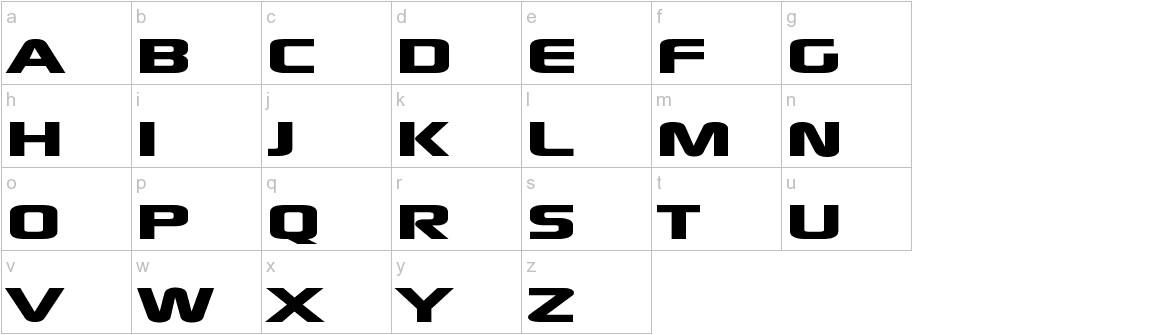 xscale lowercase