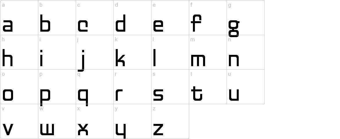 Discognate lowercase