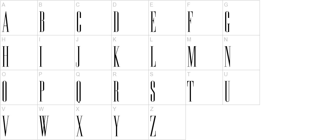 Edition uppercase