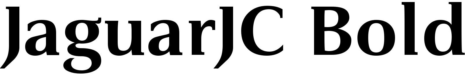 JaguarJC Bold