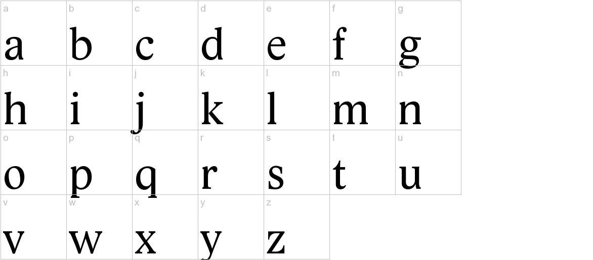 Lido STF CE lowercase