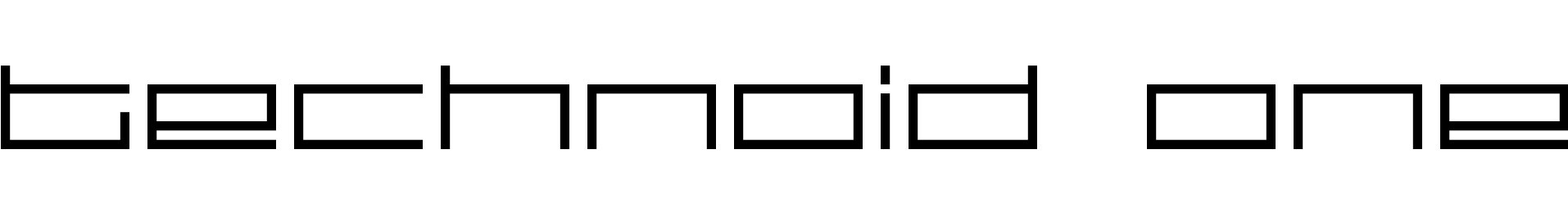 technoid one