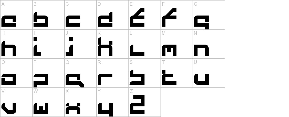 FutureFlash uppercase