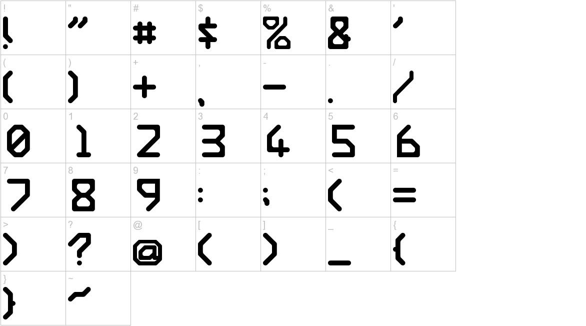 Ishi Regular E. Font   UrbanFonts.com