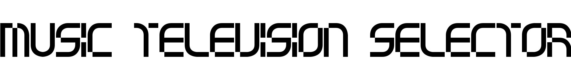 music television selector