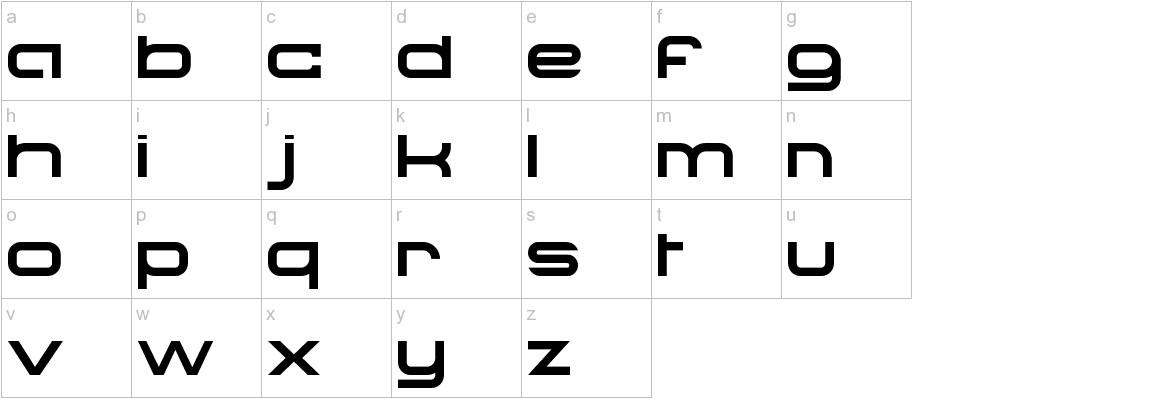 Troglodyte lowercase
