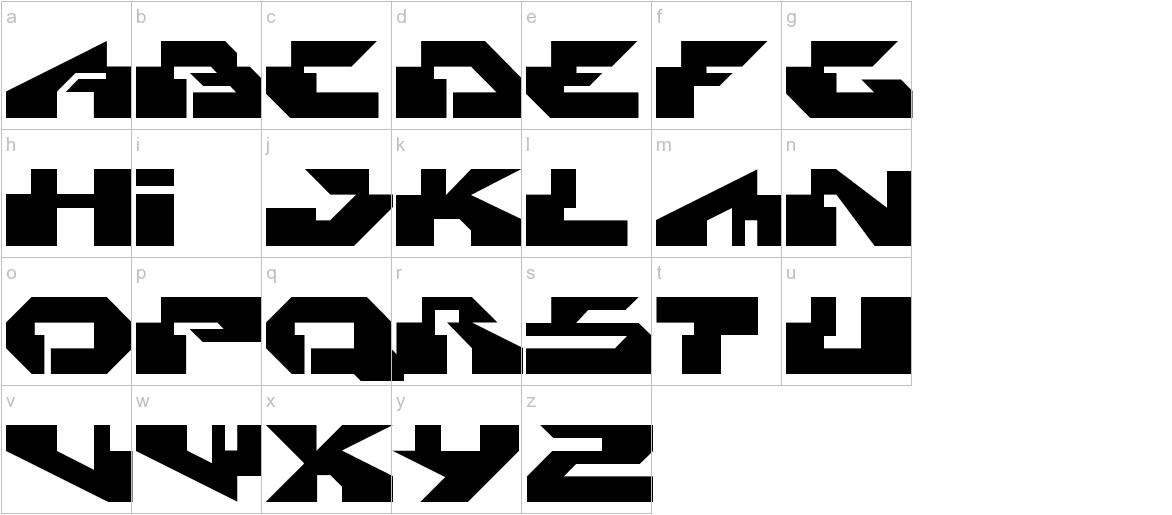 Radikal lowercase