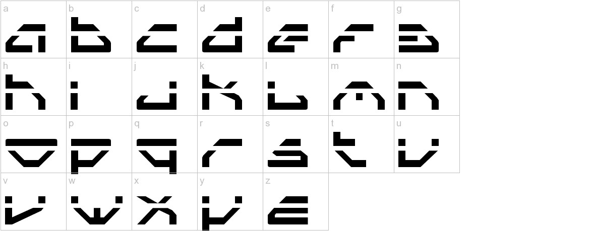 Spylord Laser lowercase
