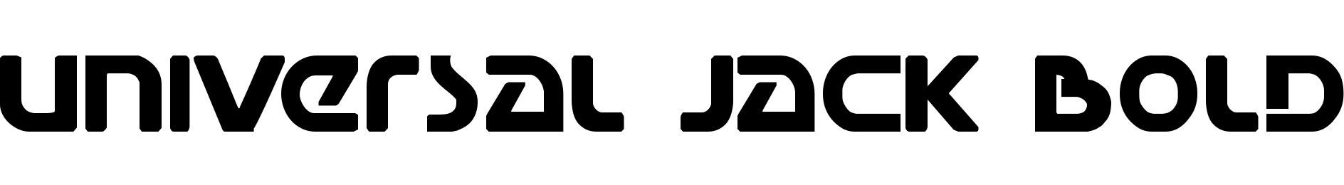 Universal Jack Bold