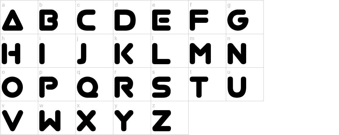 Virgo 01 lowercase
