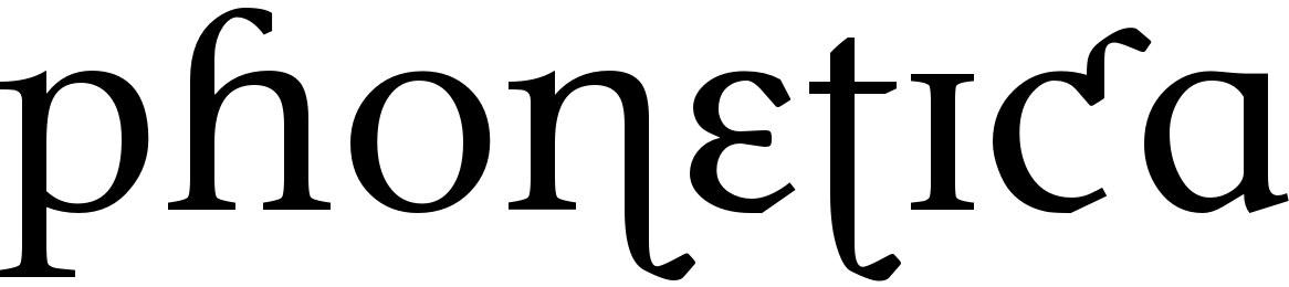 Phonetica
