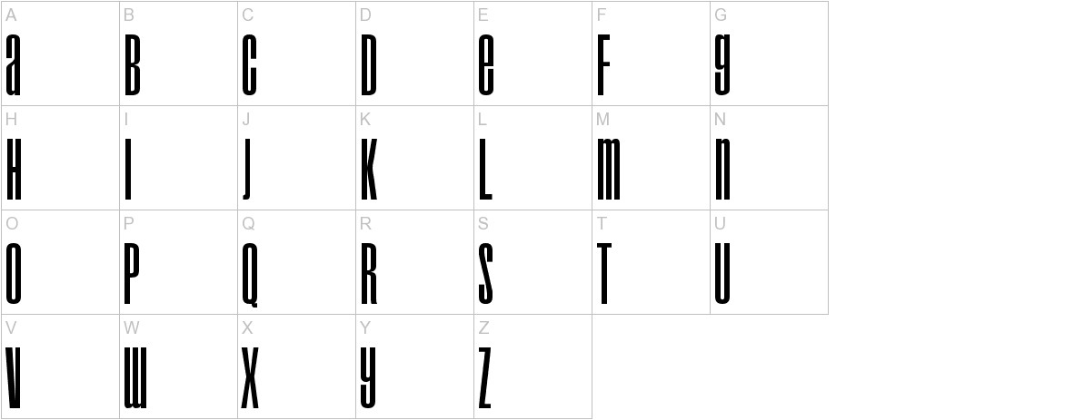 Droid uppercase