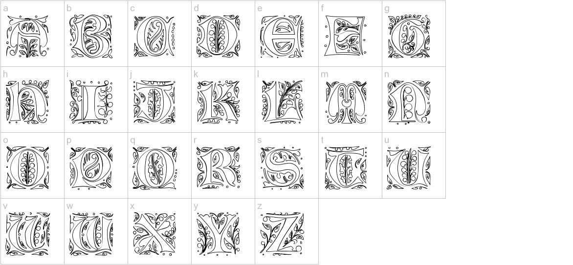 GothicIlluminate lowercase